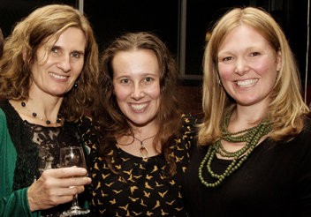 Filmmaker Heather, stills photographer Krsity Dowsing & editor Lara Van Raay